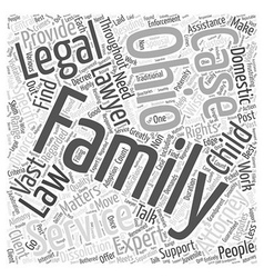 Ohio family attorney services talk to experts vector