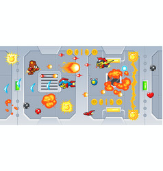 The rocketeers game assets vector