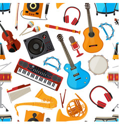 speakers amplifier synthesizer and other music vector image
