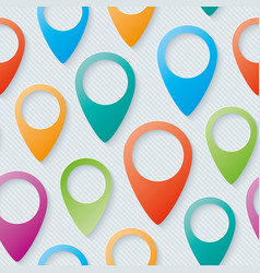 Map pointers walpaper vector