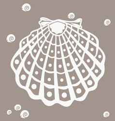 shell -design element vector image vector image