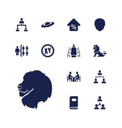 13 company icons vector