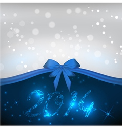 2014 blue background vector