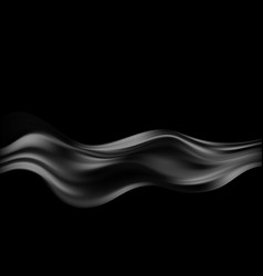 abstract background luxury black cloth vector image