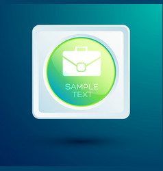 business web design concept vector image
