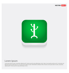 Coat rack icon vector