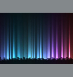 Dark rainbow abstract bar line background vector