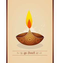 Diwali background design vector