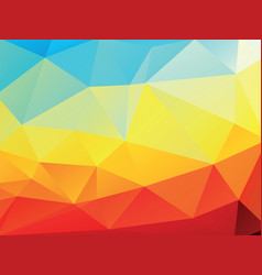 geometric colorful texture background vector image