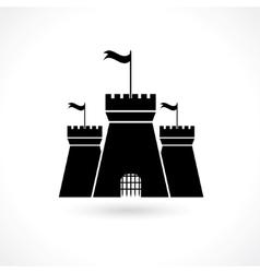 Icon prison vector