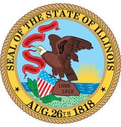 Illinois seal vector