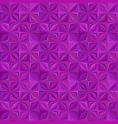 purple geometrical striped shape mosaic tile vector image