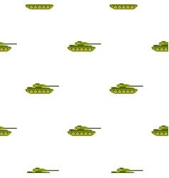 Tank pattern flat vector
