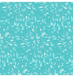 Seamless splattered fireworks pattern in blue vector image vector image
