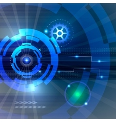 Technology Hi-tech background vector image