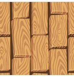 cartoon wood board texture vector image vector image