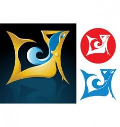 virgo zodiac sign vector image vector image