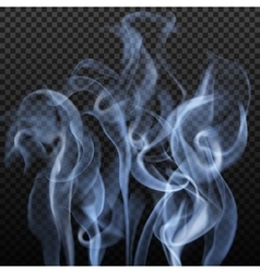 Abstract Gray Smoke Background vector