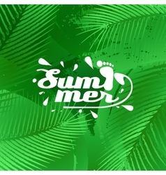 Cool summer background vector