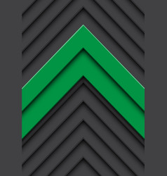 Double green arrow gray pattern direction vector