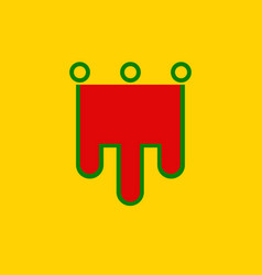 Flag of auvergne is a former administrative vector