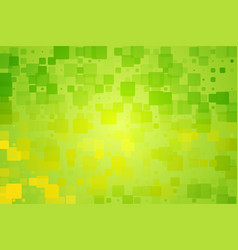 Green yellow shades glowing various tiles vector