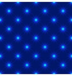 Lights seamless pattern vector image