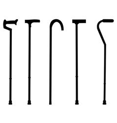 Stick cane vector