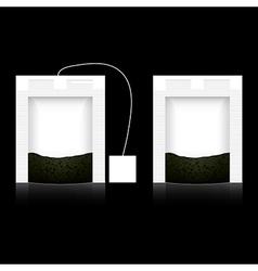 Conjunctivitis tea bag vector