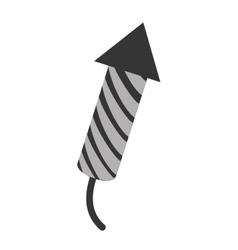Fireworks theme design icon vector image