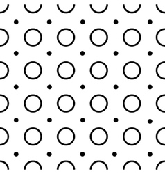 Polka-dot seamless pattern vector