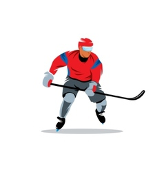 Hockey sign vector image vector image