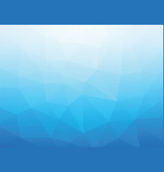abstract blue triangular background vector image