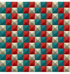 Abstract mosaic pattern background vector