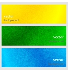 Colorful scratched vintage backgrounds vector image