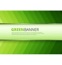 Green arrow technology background vector image