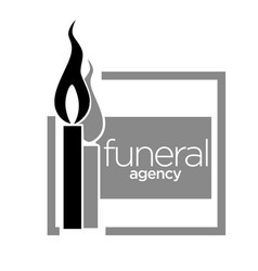 Interment service funeral agency isolated icon vector