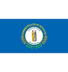 Kentucky Flag vector image