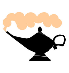 lamp of aladdin vector image