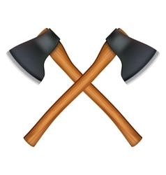 lumberjack axe vector image