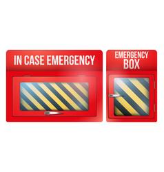 Set case emergency vector