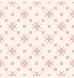 subtle minimal floral pattern with small flowers vector image