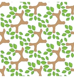tree branch pattern vector image