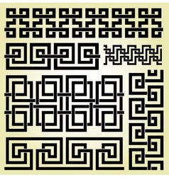 Celtic elements vector image