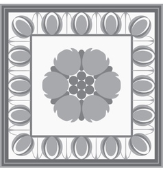 Roman classical architectural design element vector