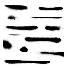 spray paint splatter texture vector image vector image