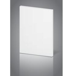 White-book vector image