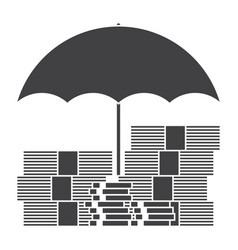 investment insurance concept vector image