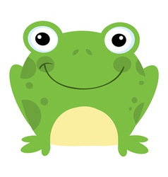 Smiling Frog vector image vector image