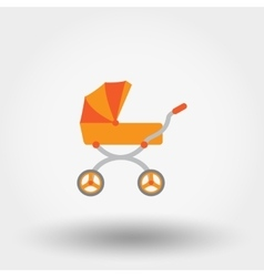 Bacarriage icon vector